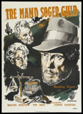 """Movie Posters:Drama, The Treasure of the Sierra Madre (Warner Brothers, 1948). Danish Poster (24.5"""" X 33.5""""). Drama. ..."""