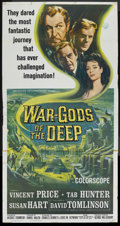 """Movie Posters:Science Fiction, War Gods of the Deep (American International, 1965). Three Sheet(41"""" X 81""""). Science Fiction. ..."""