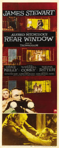 "Movie Posters:Hitchcock, Rear Window (Paramount, 1954). Insert (14"" X 36""). ..."