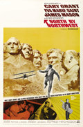 "Movie Posters:Hitchcock, North by Northwest (MGM, R-1966). One Sheet (27"" X 41"")...."