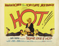"Movie Posters:Comedy, Some Like it Hot (United Artists, 1959). Half Sheet (22"" X 28"")Style A. ..."