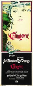 "Movie Posters:Mystery, Chinatown (Paramount, 1974). Insert (14"" X 36""). ..."