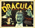 "Movie Posters:Horror, Dracula (Universal, 1931). Title Lobby Card (11"" X 14""). ..."