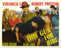 "Movie Posters:Film Noir, This Gun for Hire (Paramount, 1942). Half Sheet (22"" X 28"") Style A. ..."