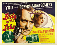 """Lady in the Lake (MGM, 1947). Half Sheet (22"""" X 28"""") Style A"""