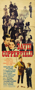 "Movie Posters:Drama, David Copperfield (MGM, 1935). Insert (14"" X 36""). ..."