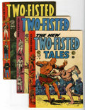 Golden Age (1938-1955):War, Two-Fisted Tales #39-41 Group (EC, 1954-55).... (Total: 3 ComicBooks)
