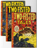 Golden Age (1938-1955):War, Two-Fisted Tales #28, 29, and 31 Group (EC, 1952-53).... (Total: 3Comic Books)