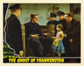 "Movie Posters:Horror, Ghost of Frankenstein (Universal, 1942). Lobby Card (11"" X 14""). ..."