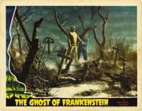 "Ghost of Frankenstein (Universal, 1942). Lobby Card (11"" X 14"")"