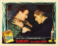 "Movie Posters:Horror, The Raven (Universal, 1935). Lobby Card (11"" X 14""). ..."