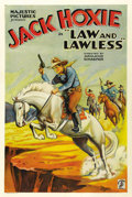 """Movie Posters:Western, Law and Lawless (Majestic, 1932). One Sheet (27"""" X 41""""). ..."""