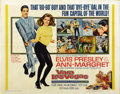 "Movie Posters:Elvis Presley, Viva Las Vegas (MGM, 1964). Half Sheet (22"" X 28""). ..."