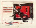 """Movie Posters:Hitchcock, North by Northwest (MGM, 1959). Half Sheet (22"""" X 28"""") Style A. ..."""