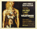 "Movie Posters:James Bond, Goldfinger (United Artists, 1964). Half Sheet (22"" X 28""). ..."