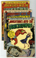 Golden Age (1938-1955):Horror, Adventures Into The Unknown Group (ACG, 1951).... (Total: 4 ComicBooks)