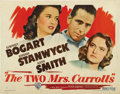 "Movie Posters:Film Noir, The Two Mrs. Carrolls (Warner Brothers, 1947). Half Sheets (2) (22""X 28""). Styles A and B. ... (Total: 2 Items)"