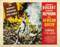 "Movie Posters:Adventure, The African Queen (United Artists, 1952). Half Sheet (22"" X 28"")Style A. ..."