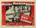 "Movie Posters:Film Noir, Key Largo (Warner Brothers, 1948). Half Sheet (22"" X 28"") StyleB...."