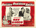 "Movie Posters:Film Noir, Key Largo (Warner Brothers, 1948). Half Sheet (22"" X 28"") StyleA...."