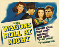"""Movie Posters:Drama, The Wagons Roll at Night (Warner Brothers, 1941). Half Sheets (2)(22"""" X 28"""") Styles A and B. ... (Total: 2 Items)"""