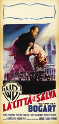 "Movie Posters:Film Noir, The Enforcer (Warner Brothers, 1951). Italian Locandina (13"" X27""). ..."