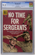 Silver Age (1956-1969):Miscellaneous, Four Color #914 No Time For Sergeants (Dell, 1958) CGC NM- 9.2Off-white pages....