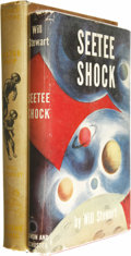 Books:First Editions, Two Will Stewart Classics, including:. Seetee Shock (NewYork: Simon and Schuster, 1950), 238 pages, red cloth with ...(Total: 2 Items)