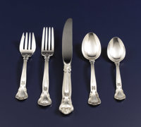 An American Silver Flatware Service  Gorham Manufacturing Co., Providence, Rhode Island Circa 1950 Silver