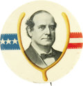 """Political:Pinback Buttons (1896-present), William Jennings Bryan: Wishbone 2 1/8"""" Giant Celluloid...."""