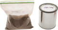 Explorers:Space Exploration, NASA Johnson Space Center Simulated Moon and Mars Soil Samples, OneQuart Each. ... (Total: 2 Items)