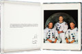 Explorers:Space Exploration, NASA Space Missions Omega Moon Watch Presentation Book with TwentyGlossy Prints. ...