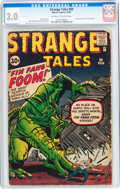 Silver Age (1956-1969):Adventure, Strange Tales #89 (Marvel, 1961) CGC GD/VG 3.0 Off-white to white pages....