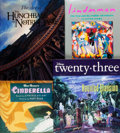 Books:Art & Architecture, [Art]. Group of Four Books Related to Disney and Art. Various publishers and dates. One, Linderman: The True and Incredibl... (Total: 4 Items)