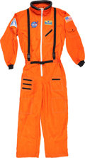 Explorers:Space Exploration, Buzz Aldrin Owned Orange NASA Space Shuttle Flight Suit, Originally from His Personal Collection....