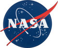 "Explorers:Space Exploration, NASA ""Meatball"" Logo Plaque for Podium or Lectern...."