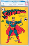 Golden Age (1938-1955):Superhero, Superman #11 (DC, 1941) CGC FN/VF 7.0 Cream to off-white pages....