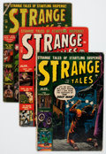 Golden Age (1938-1955):Science Fiction, Strange Tales Group (Atlas, 1952-57) Condition: Average FR/GD....(Total: 8 Comic Books)