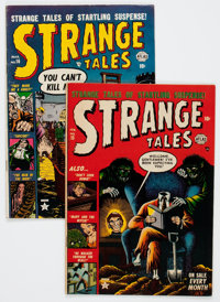 Strange Tales #15 and 16 Group (Atlas, 1953) Condition: Average VG.... (Total: 2 Comic Books)