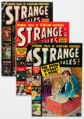 Golden Age (1938-1955):Science Fiction, Strange Tales Group (Atlas, 1952-54) Condition: Average GD/VG....(Total: 4 Comic Books)