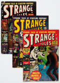 Silver Age (1956-1969):Science Fiction, Strange Tales Group (Atlas, 1952-57) Condition: Average GD/VG.... (Total: 8 Comic Books)