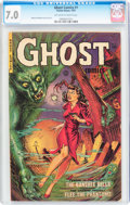 Golden Age (1938-1955):Horror, Ghost #1 (Fiction House, 1951) CGC FN/VF 7.0 Off-white to whitepages....