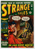 Golden Age (1938-1955):Horror, Strange Tales #8 (Atlas, 1952) Condition: FN....