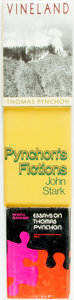 Books:Non-fiction, [Thomas Pynchon]. Group of Three Books Related to Thomas Pynchon.Various publishers and dates.... (Total: 3 Items)
