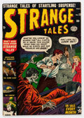 Golden Age (1938-1955):Horror, Strange Tales #12 (Atlas, 1952) Condition: FN-....