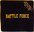 Miscellaneous Collectibles:General, 1933 West Coast Army Battle Force 17 Horse Blanket....