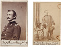 Photography:CDVs, Union General Andrew A. Humphreys: Two Cartes de Visite....
