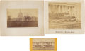 Photography:Stereo Cards, Three Ulysses S. Grant Inaugural Photographs.... (Total: 3 Items)