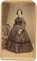 Photography:CDVs, Confederate Spy Rose O'Neal Greenhow Carte de Visite....