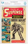 Silver Age (1956-1969):Superhero, Tales of Suspense #39 (Marvel, 1963) CBCS FN/VF 7.0 White pages....